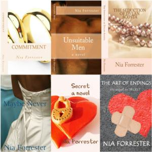 Nia Forrester - book covers
