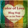 Color of Love Blog Hop and Giveaway