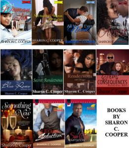 Books by Sharon C -2015